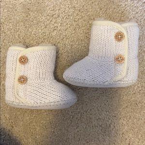 Cream Ugg boots